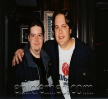 Erik Remec Eddie Trunk NYC 2003