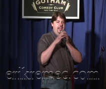 Erik Remec Gotham Comedy Club NYC 2009