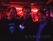 Erik Remec with Eddie Trunk & Jim Florentine